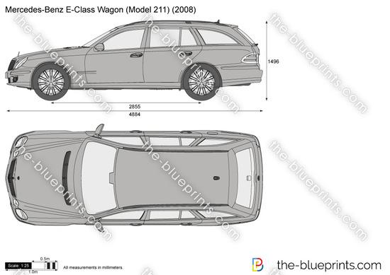 Mercedes-Benz E-Class Wagon W211