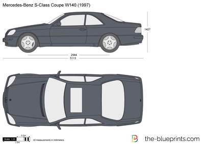Mercedes-Benz S-Class Coupe W140