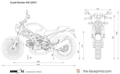 Ducati Monster 400 (2007)