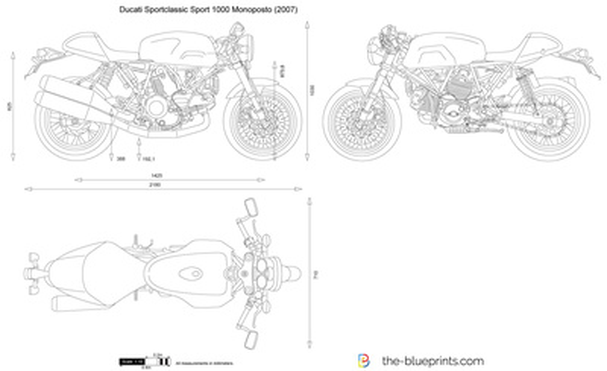 Ducati Sportclassic Sport 1000 Monoposto