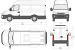 Iveco Daily 35S12 SWB