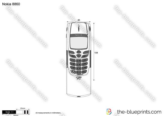 Nokia 8860