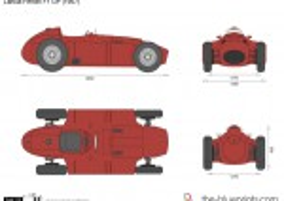 Lancia Ferrari F1 GP