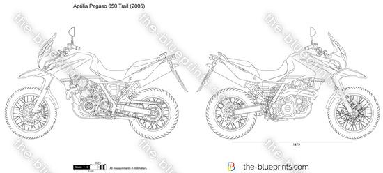 Aprilia Pegaso 650 Trial