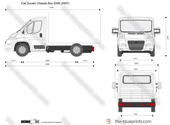 Fiat Ducato Chassis Box SWB