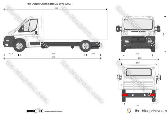 Fiat Ducato Chassis Box XL LWB