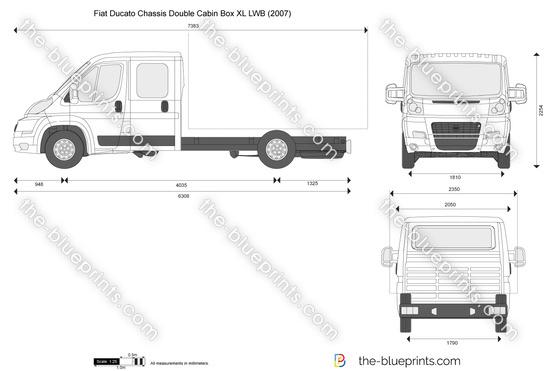 Fiat Ducato Chassis Double Cabin Box XL LWB
