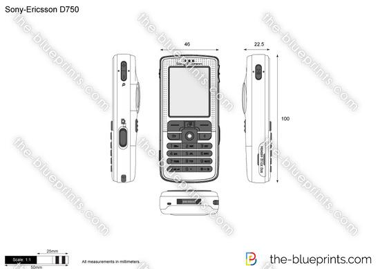 Sony-Ericsson D750