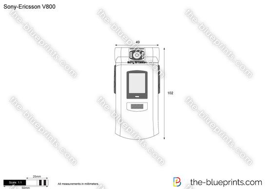 Sony-Ericsson V800