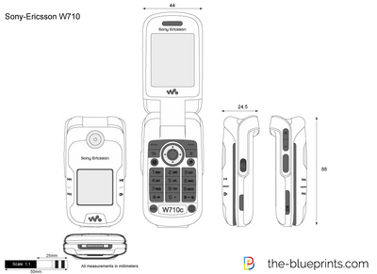 Sony-Ericsson W710