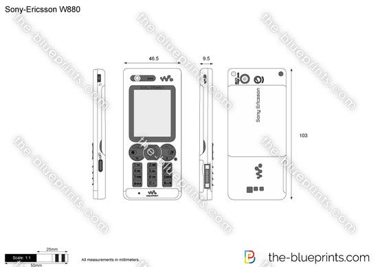 Sony-Ericsson W880