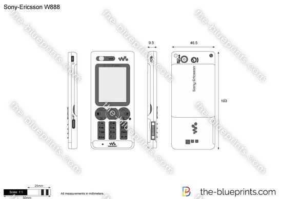 Sony-Ericsson W888