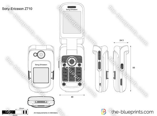Sony-Ericsson Z710