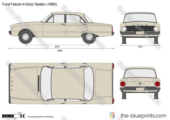 Ford Falcon 4-Door Sedan