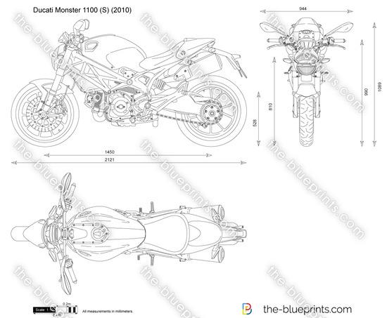 Ducati Monster 1100 (S)