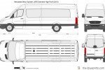 Mercedes-Benz Sprinter LWB Extended High Roof