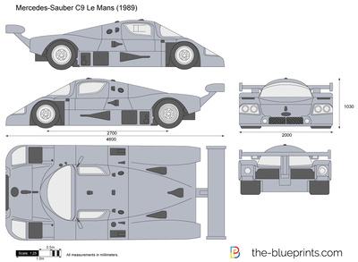 Mercedes-Sauber C9 Le Mans