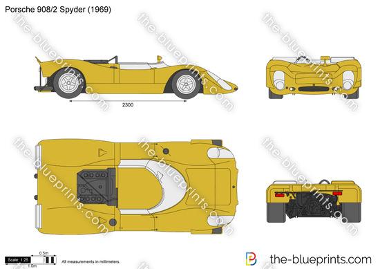 Porsche 908 Spyder