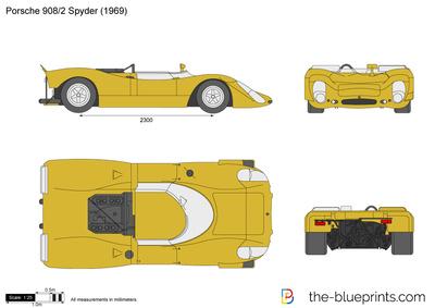 Porsche 908 Spyder (1969)
