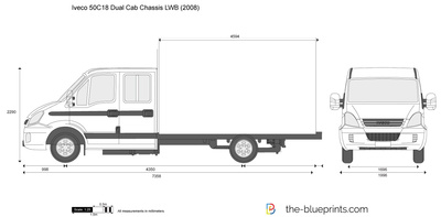 Iveco 50C18 Dual Cab Chassis LWB