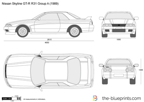 Nissan Skyline GT-R R31 Group A