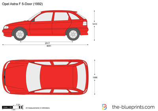 Opel Astra F 5-Door