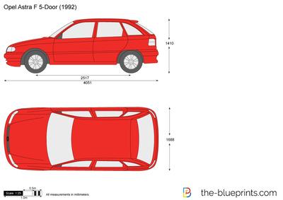 Opel Astra F 5-Door (1992)