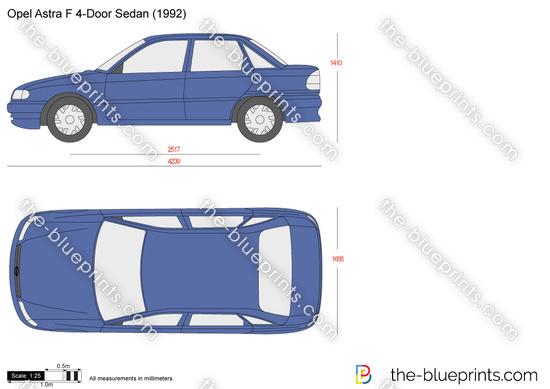 Opel Astra F 4-Door Sedan