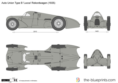Auto Union Type B 'Lucca' Rekordwagen