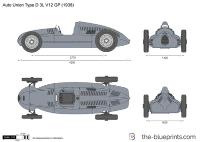 Auto Union Type D 3L V12 GP
