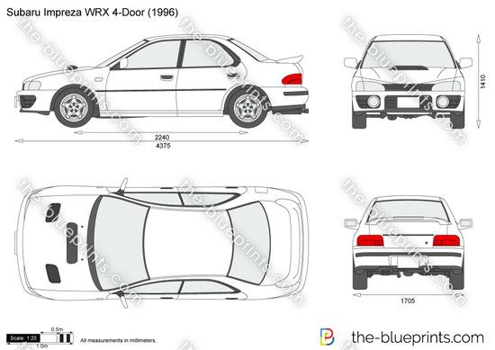 Subaru Impreza WRX 4-Door