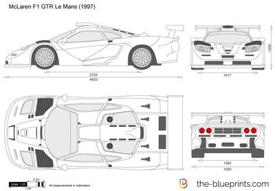 McLaren F1 GTR Le Mans (1997)