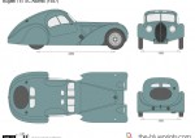 Bugatti T57 SC Atlantic (1937)