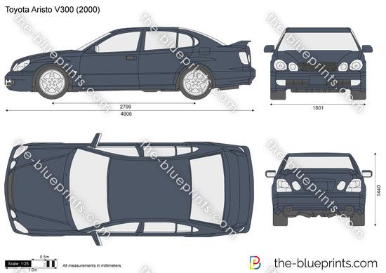 Toyota Aristo V300