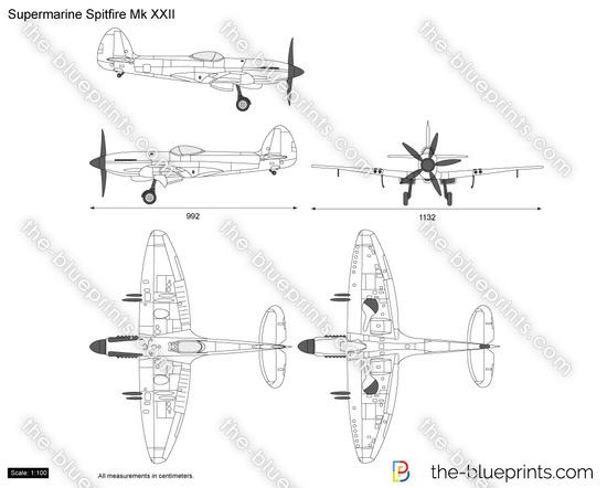 Supermarine Spitfire Mk XXII
