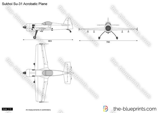 Sukhoi Su-31 Acrobatic Plane