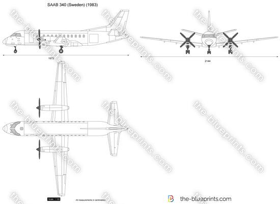 SAAB 340 (Sweden)