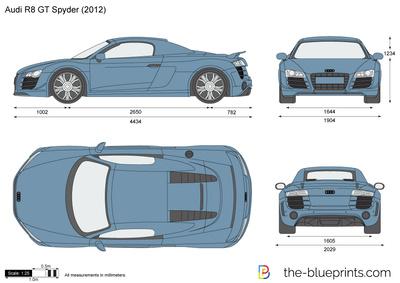 Audi R8 GT Spyder (2012)