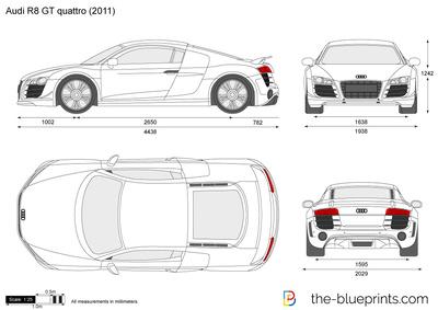 Audi R8 GT quattro