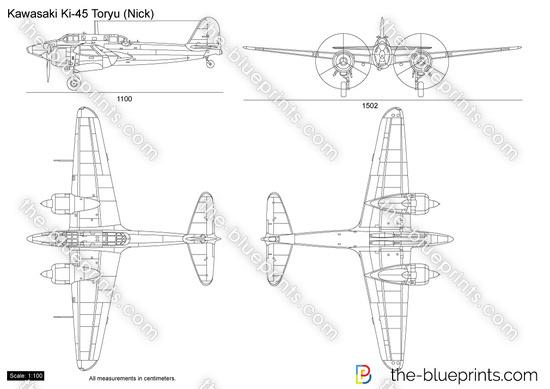 Kawasaki Ki-45 Toryu (Nick)