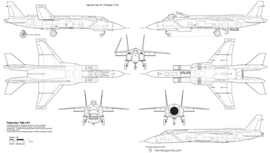 Yakovlev Yak-141 'Freestyle' VTOL