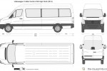 Volkswagen Crafter Kombi LWB High Roof