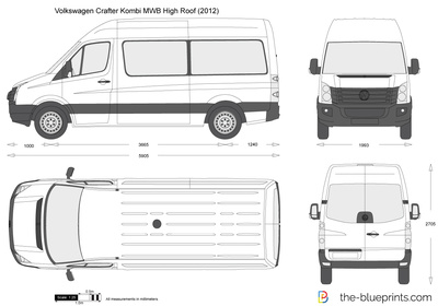 Volkswagen Crafter Kombi MWB High Roof