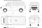 Volkswagen Crafter Kombi SWB Normal Roof