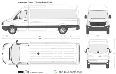 Volkswagen Crafter LWB High Roof