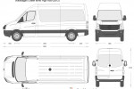 Volkswagen Crafter MWB High Roof