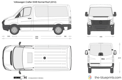 Volkswagen Crafter SWB Normal Roof