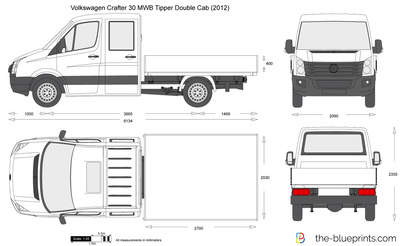 Volkswagen Crafter 30 MWB Tipper Double Cab