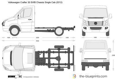 Volkswagen Crafter 30 SWB Chassis Single Cab