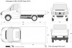 Volkswagen Crafter 30 SWB Tipper Single Cab